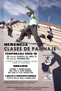 CARTEL HERENCIA TEMPORADA 2015-16